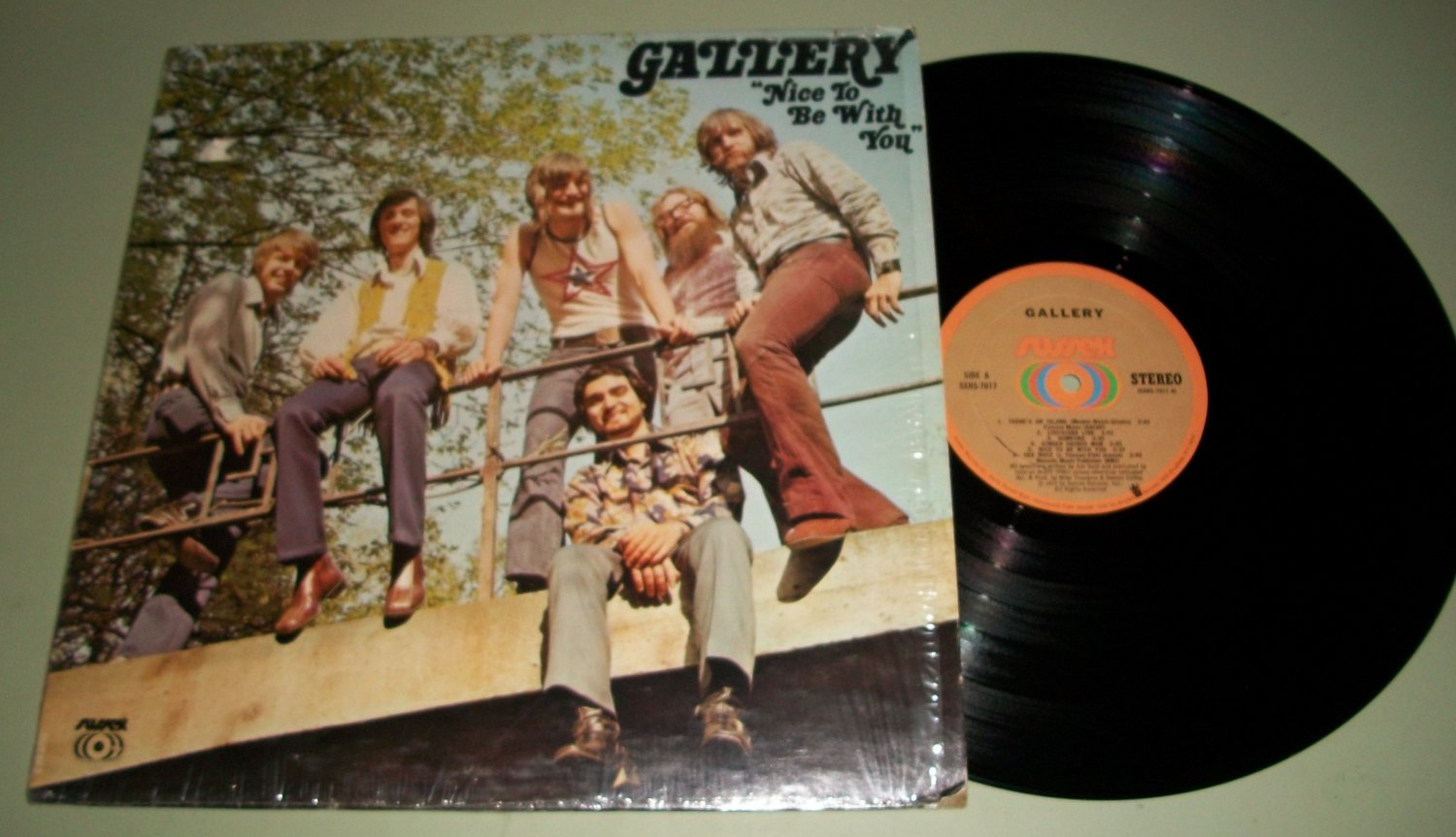 Gallery - Nice To Be With You - SUSSEX 7017 - Rock Record LP