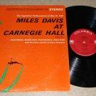 Miles Davis - At Carnegie Hall - COLUMBIA CS 8812 - Jazz LP