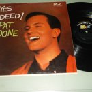 Pat Boone - Yes Indeed - DOT 3121 - Record  LP
