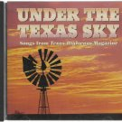 Under The Texas Sky from Texas Highway Magazine - Various Artist CD