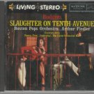 Arthur Fiedler & Boston Pops - Slaughter On Tenth Avenue  - RCA Living Stereo  - Classical  CD