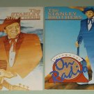 The Stanley Brothers - On Radio Vols. 1 and 2   - COUNTY 780 / 781 - 2 Bluegrass Records