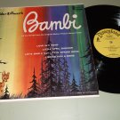 Walt Disney - Bambi - Disneyland DQ 1203 Soundtrack LP