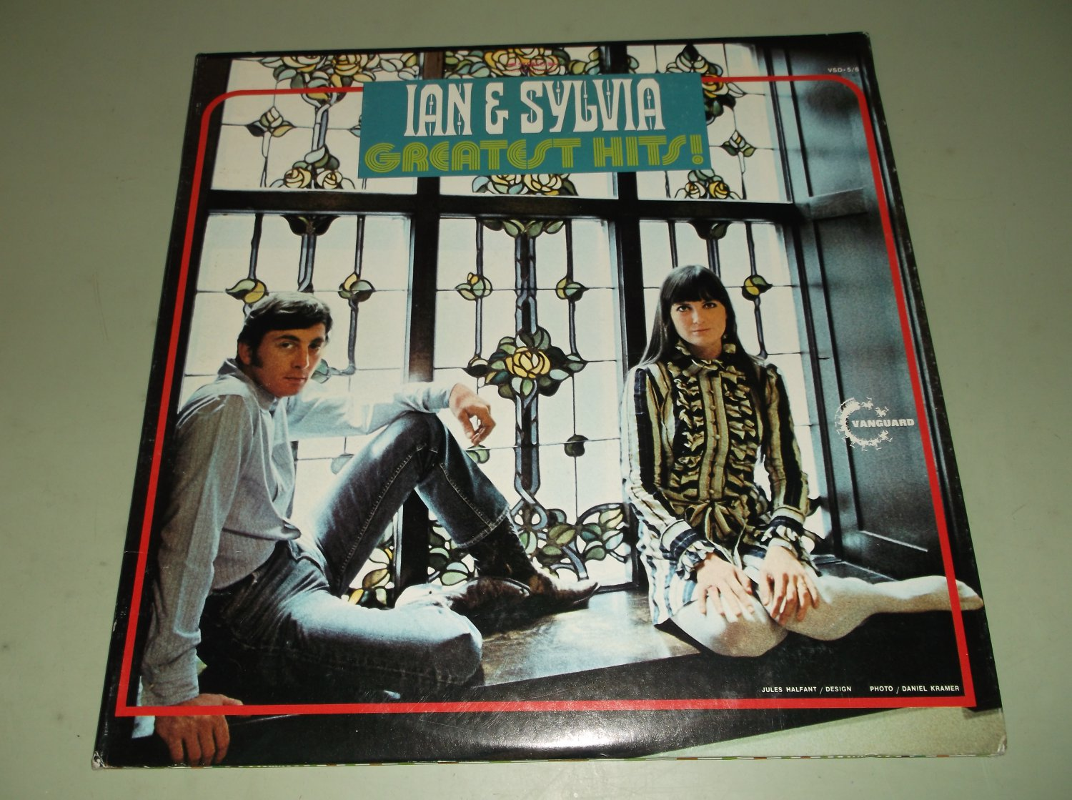 Ian & Sylvia - Greatest Hits  - VANGUARD 5/6 - Folk 2 LP's