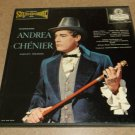 Giordano - Andrea Chenier Complete - Blue Back LONDON OSA 1303 - 3 Classical Records  LP Box Set