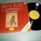 Brahms Claudio Abbado 21 Ungarishe Tanze DG - Record LP