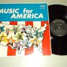 Music For America - Various Artist - WORD 3097 Christian Gospel LP