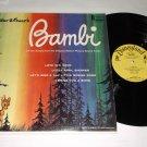 Disney's Bambi  DISNEYLAND DQ1203 Mono Soundtrack Record