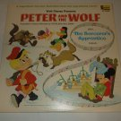 Disney's Peter And The Wolf DISNEYLAND ST 3926 Storybook Soundtrack Record