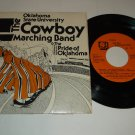 Oklahoma State University The Cowboy Marching Band 45rpm Record