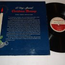 A Very Special Christmas Message Lionel Barrymore Libbey-Owens-Ford Promo Record