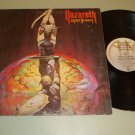 Nazareth   Expect No Mercy   A&M 4666   Rock  LP