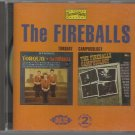 The Fireballs - Torquay - Campusology - 2 Complete Albums - CD