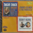 Jimmy Gilmer and The Fireballs - Sugar Shack - Buddy's Buddy - 2 Albums  Factory Sealed CD