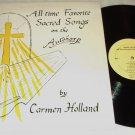 Carmen Holland   Favorite Sacred Songs Autoharp   Christian Private Label