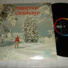Christmas In Germany  CAPITOL 10095  Record  LP