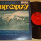 Bob Vaught & The Renegaids Surf Crazy CRESCENDO 83 Beach Guitar Record