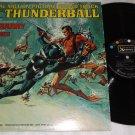 James Bond Thunderball John Barry Tom Jones Original Mono Soundtrack Record LP