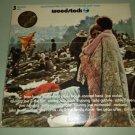 Woodstock  COTILLION SD3-500  Original Soundtrack 3 Records