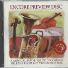 RCA Victor Encore Preview Disc   Various Artist    Classical  CD