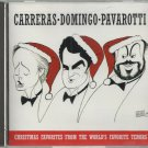 Carreras  Domingo  Pavarotti  Christmas Favorites    Classical  CD