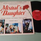 Mistral's Daughter  Vladimir Cosma  CARRERE 39902   Soundtrack Record  LP