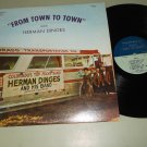 Herman Dinges And His Polka Band  From Town To Town  F-13-20  Record  LP