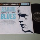 Harry Belafonte Sings The Blues   RCA LSP-1972 Germany Issue Record  LP