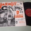 Eddie Condon and All-Stars  Jammin' At Condon's  COLUMBIA 616  Jazz  Record  LP