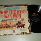 How The West Was Won   Alfred Newman  MGM 1SE5   Soundtrack Record  LP