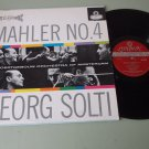 Georg Solti  Mahler No. 4  LONDON 6217  Blue Back   Classical Record LP