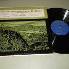 Pete Seeger - American Favorite Ballads Vol. 3 - FOLKWAYS 2323 - Folk Record  LP