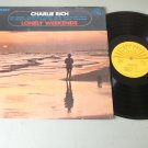 Charlie Rich - Lonely Weekends - SUN 110 - Country Record  LP