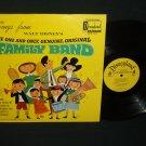 Disney's  Family Band  DISNEYLAND 1316  Children Record