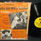 Walt Disney Corky And White Shadow Mickey Mouse Record DBR-59 Buddy Epsen 78