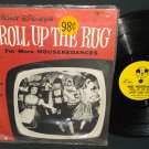 Walt Disney Roll Up The Rug Mickey Mouse Record DBR-63 Mouse Club TV Show 78