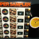 Super Sampler  M&K REALTIME RECORDS  Various Artist