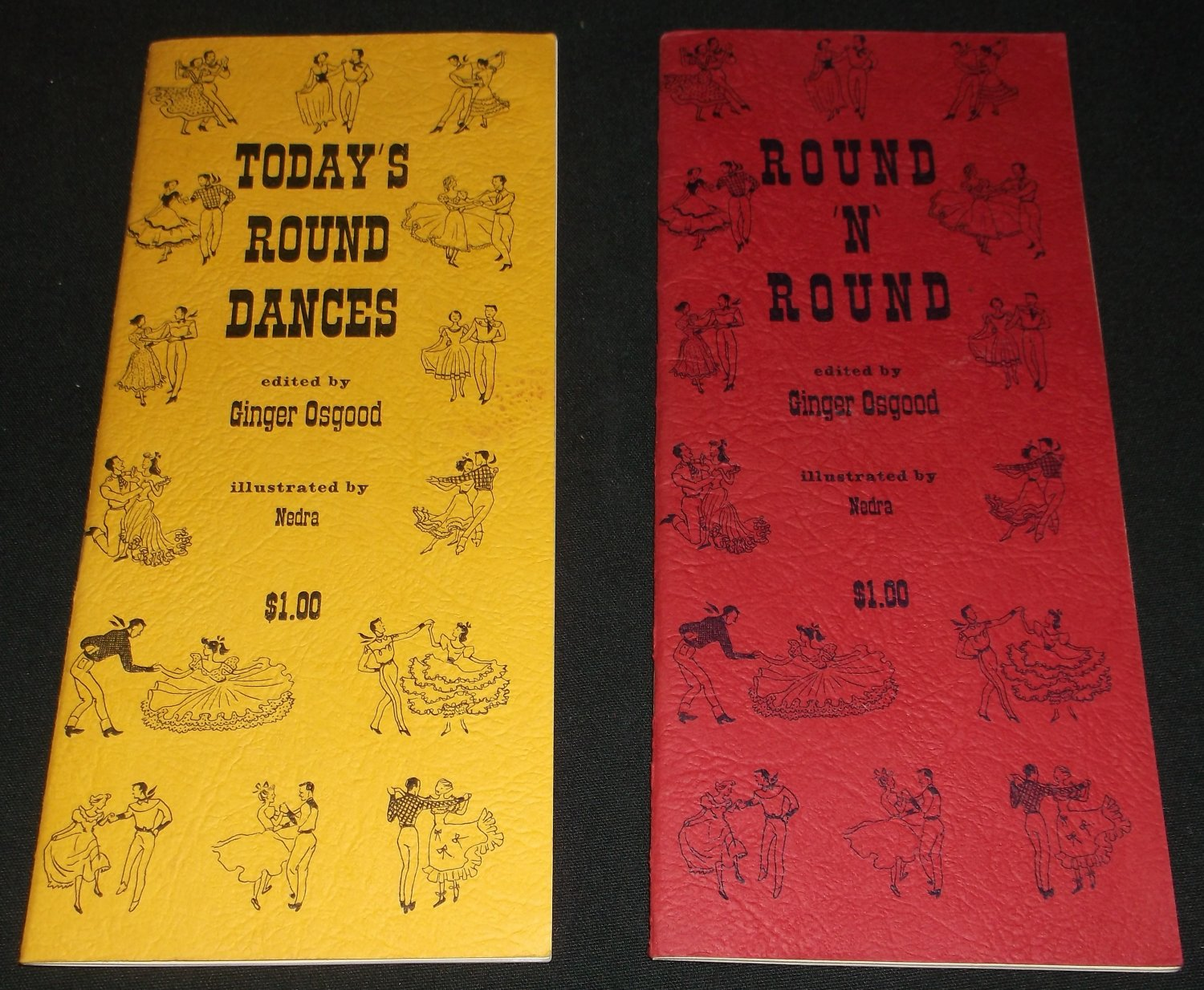 2 Booklets  Todays Round Dance and Round N Round  Ginger Osgood