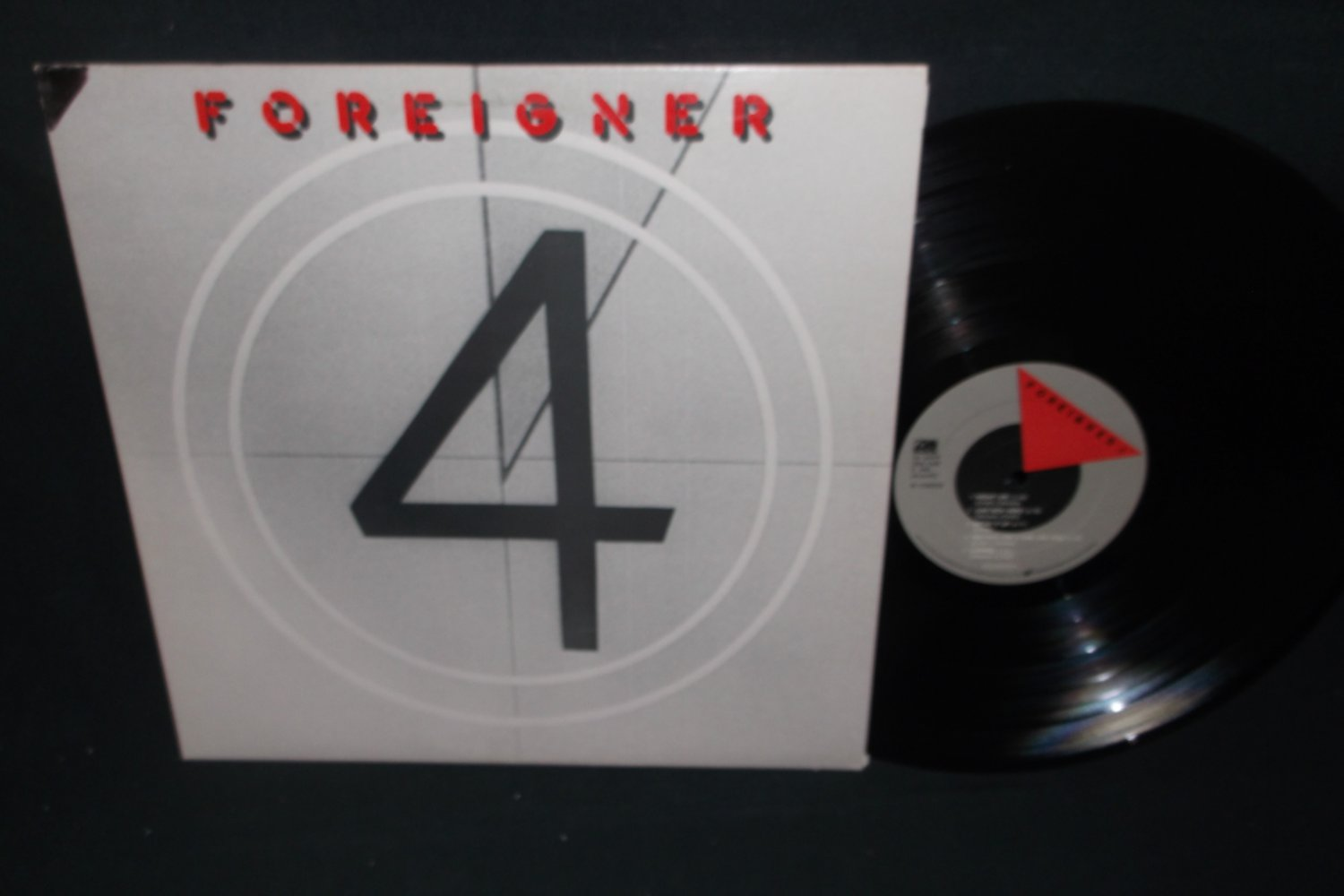 Foreigner 4  ATLANTIC 16999  Rock Record  LP