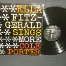 Ella Fitzgerald Sings More Cole Porter  VERVE 4050  Jazz  Record  LP