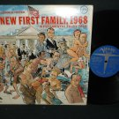 Bob Booker and George Foster - The New First Family 1968 -  VERVE 15054 - Comedy - Record LP