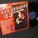 Very Best Of Tony Bennett - 20 Greatest Hits - CBS 5021 - UK Issue Record