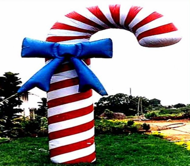 CHISTMAS CANDY CANE HOLIDAYS DECORATIONS NOT A GEMMY AIR BLOWN INFLATABLES BALLOONS GIFTS SIGNS
