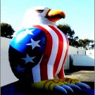 AMERICAN EAGLE PATRIOTIC ELECTIONS PROPS ADVERTISING BUSINESS BALLOONS VOTING SIGNS PARTY FOODS
