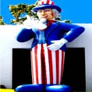 UNCLE SAM PATRIOTIC ELECTIONS PROPS ADVERTISING BUSINESS BALLOONS VOTING SIGNS  PARTY FOODS AD