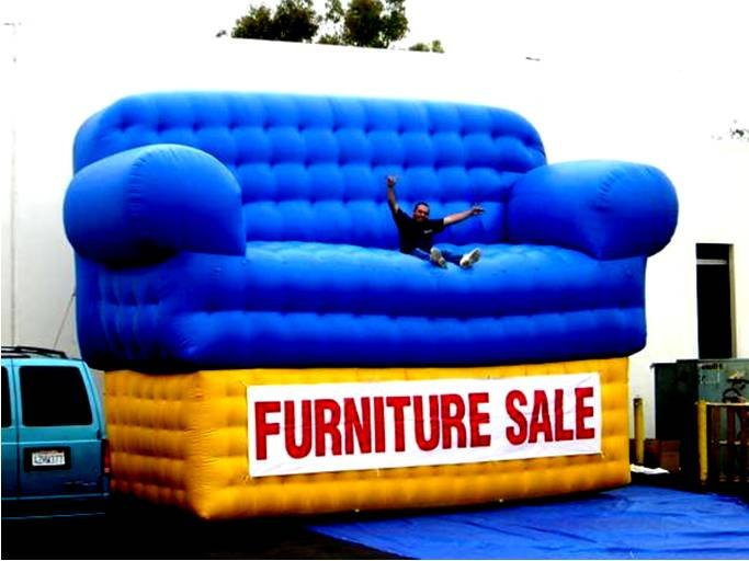 SIGNS FURNITURE DECOR STORES BUSINESS PROPS TRADE SHOWS ADVERTISING INFLATABLE BALLOON NEON
