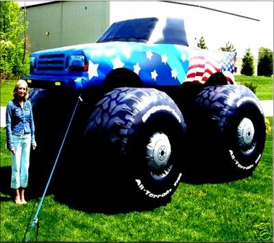 MONSTER TRUCKS JAMS MOTORSPORTS EVENTS PROMOTERS RACING BUSNESS SIGNS INFLATABLES PROPS