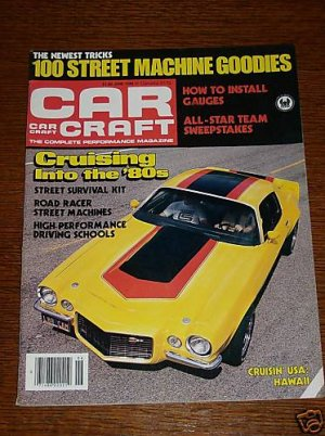 Car craft magazine june 1980 classic cars nhra for Car craft magazine back issues