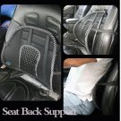 4 NEW MESH MASSAGE BACK LUMBAR SUPPORT CAR SEAT CUSHION