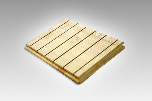 Heating system bamboo flooring